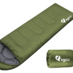 Peanut By EGOZ Easy to Carry Warm Adult Sleeping Bag Outdoor Sports Camping Hiking With Carry Bag