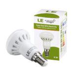 LE 6W R50 E14 Reflector LED Bulbs, 45W Incandescent Bulb Equivalent, 480lm, Warm White