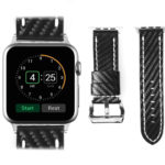 Apple iWatch Band, Rotibox Handmade Italian Genuine Leather Smart Watch Wristband