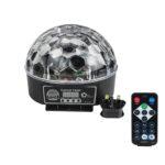 LED RGB Crystal Magic Effect Ball light DMX Disco DJ Stage Lighting Play and UK Plug