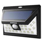 Mpow Solar Lights Motion Sensor Security Lights, 24 LED Solar Powered Light