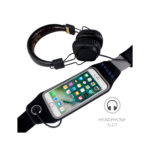 Snugg Running Belt With Dual Storage Compartments – Fits Phones Up To And Including iPhone 6 Plus