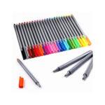 Plinrise MNM-01 Colored Drawing Pen Fine Liner 0.4mm Sketch Drawing Marker Pen