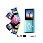 Btopllc 32GB MP4 Player MP3 Music Player With Micro SD Card Built in