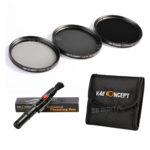 K&F Concept 67mm ND2 ND4 ND8 Lens Accessory Filter Kit