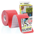 Pre-Cut Kinesiology Tape – 5m Sports Tape For Knee Shoulder Elbow Ankle Back & Neck