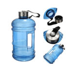 BPA Free Half Gallon Water Bottle, Drinking Container Jug