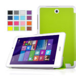 IVSO Slim Smart Cover Case for Acer Iconia A1-830 7.9-Inch Tablet – NOT fit Acer Iconia A1-810 Tablet (White)
