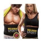 Waist Trimmer Ab Belt (Elite Edition) – Adjustable Weight Loss Sauna Belt For Men & Women With Lower Back & Lumbar Supports