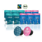 Gourmesso Bio & Fairtrade Bundle – 100 Nespresso Compatible Coffee Capsules / Pods