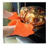 Joyoldelf Newest Heat Resistant Silicone Kitchen and BBQ Gloves