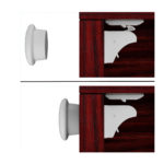 Joyoldelf Magnetic Cupboard Locks for Baby Care Child Proofing