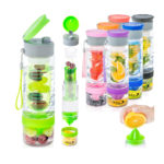 Babz InterFuse Sport Fruit Infusion Infusing Water Bottle | BPA Free | 7 Colours