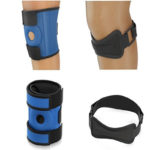 Azure Sport Knee Brace and Strap. Patella Support for Running and Exercising.