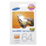 Samsung Plus 64GB Micro SD Card SDXC Class 10 Memory Card, 48MB/S & Adapter