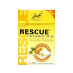 Bach Rescue Chewing Gum with Flower Essences