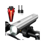 Rechargeable CREE LED Bike Light, Super-Bright Bicycle Headlight, Mountain Front Bike Light