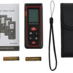 Laser Distance Meter Proster Handheld Laser Range Finder 40m Rangefinder Electronic Measuring Device