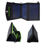Dual-Port Solar Power Charger by Cozypony High Efficiency Solar Panel Charger