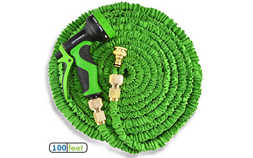 100ft Triple Layer, Non Kink Expanding Garden Hose Pipe Complete ...