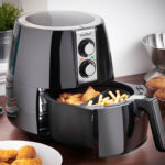 VonShef 2.2 Litre Air Fryer 1230W in Black Oil Free Healthier Fryer