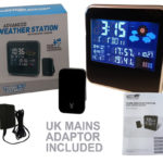 Weather Station With Outdoor Sensor, Transmitter – Wireless Weather Station