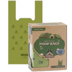 Pogi's Poop Bags – 300 Bags with Easy-Tie Handles – Large, Biodegradable, Scented, Leak-Proof Pet Waste Bags
