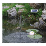 Solar Powered Fountain Pump for Fountains, Waterfalls and Water Displays
