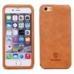 SHIELDON Ultrathin Genuine Leather Case for iPhone 6s / iPhone 6 4.7 inch Full Body Protective Back Case Leather Cover