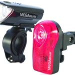 Sport Direct(TM) Bicycle Bike 0.5W MegaBeamTM LED Light Set 3 Diode LED Front Lamp & 3 Diode Rear