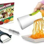 Spiral Slicer Spiralizer Vegetable Cutter – Zucchini Pasta Noodle Spaghetti Maker