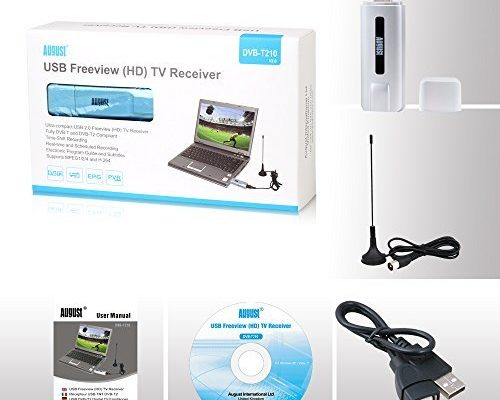 AUGUST USB FREEVIEW TV RECEIVER DRIVERS FOR WINDOWS 10