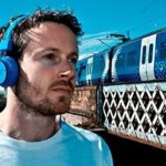 "SoulBuddy ""S-type"" Headphone : Stylish Headphone/iPhone Microphone Headset for Phone & PC (blue)"