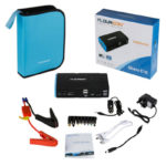 Floureon 16800mAh Mini Car Jump Starter Multi-Function Power Bank Vehicle