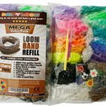 Daisy Loom Mega Value Pack Latex, Lead & Phthalates Free Silicone Bands Fruity Scent