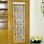 Just Life 20/24 Pocket Over Door Hanging Space Saving Organiser Storage Bag Rack Household Accessory Organizer (24 Pocket)