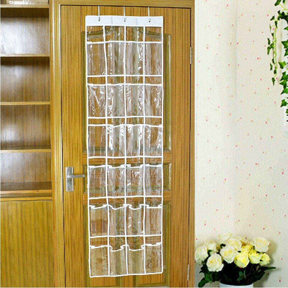 Just Life 2024 Pocket Over Door Hanging Space Saving Organiser
