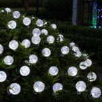 lederTEK Solar LED Outdoor String Lights Solar Powered Globe Fairy Lights