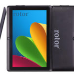 Rotor 7″ Tablet with Bluetooth HD Quad Core 1024X600 Tablet PC Actions