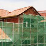 Kenley Scaffold Debris Safety Netting Shade Screen – Green – 1m x 50m