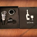 Trendy Bartender Wine Aerator Decanter Pour Spout Set By – Foil Cutter, Drip-Stop Ring & Wine Aerator Decanter!