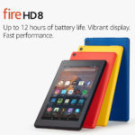 Amazon Fire HD 10 Tablet eReader with HD Display, Wi-Fi, 16 GB (Black)