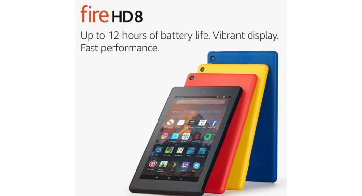 Amazon Fire HD 10 Tablet eReader with HD Display, Wi-Fi, 16