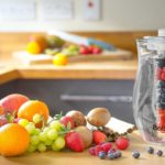 Babz 2.7L Fruit Infusion Pitcher Jug With Ice Core – To Chill Drinks And Create Tasty Fruit Infusions