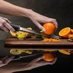 Joyoldelf Multipurpose Stainless Steel Kitchen Cheese Grater & Lemon Zester