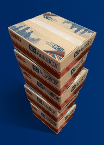 BCS AutoBOX Branded Cardboard Boxes