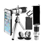 YOPO iPhone 6/6 Plus/5S/5 Tripod Camera Lens Kit Lens Fish Eye Lens
