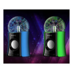 Magic Music Plasma Ball Fantastic Lighting ball play USB Power mini wireless portable Bluetooth speaker