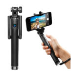 InaRock Selfie Stick Ultra Compact Foldable QuickSnap Pro 3-In-1 Self-Portrait Monopod Extendable Wireless