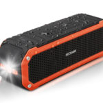 PECHAM C26 Portable Bluetooth Speaker Waterproof Speaker, Powerful Sound with Built-in Microphone
